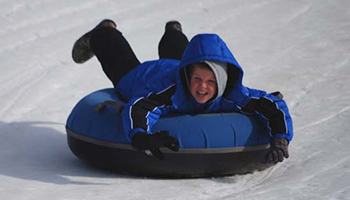 Snow Tubing at Wolf Ridge Ski Resort!