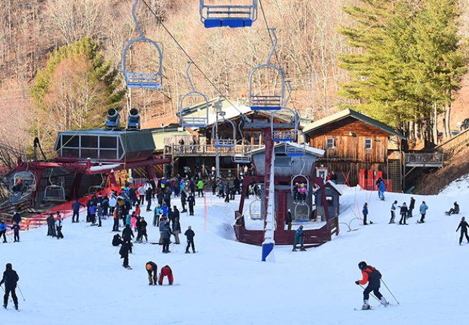 Lodge at Wolf Ridge Ski Resort